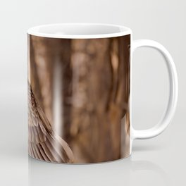 Turkey Vulture In Birch Tree Coffee Mug