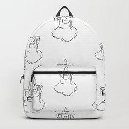 Melt Me (White) Backpack