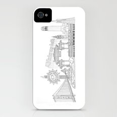 San Francisco by the Downtown Doodler iPhone (4, 4s) Slim Case