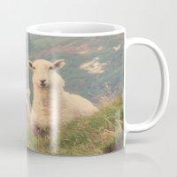 sheep Mugs featuring Sheep by Vic Torys