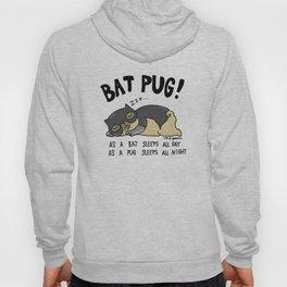 Bat Pug! Hoody