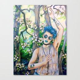 Dogwood Daydreams Canvas Print