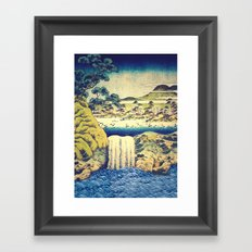 To Pale the Rains in August Framed Art Print