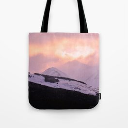 Rose Quartz Turbulence - III Tote Bag