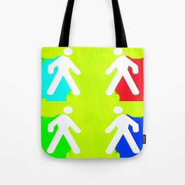 Super heroes Tote Bag