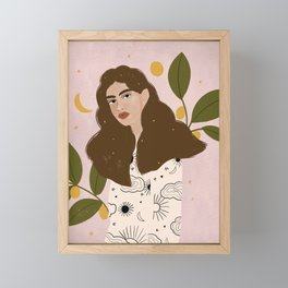 Constellation Framed Mini Art Print