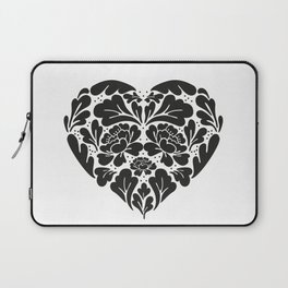 Black Heart Laptop Sleeve