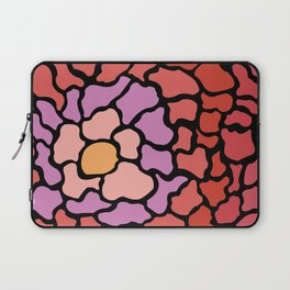 abstract shades of red and pink Laptop Sleeve