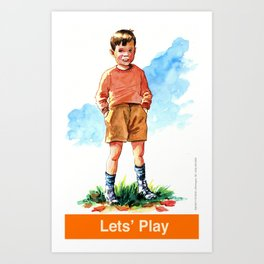 Let's Play!  Art Print