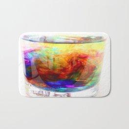 A mix of color  Bath Mat