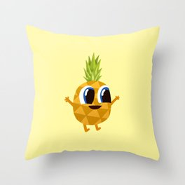 Ananas Pineapple Throw Pillow