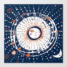 Sol Azul Canvas Print