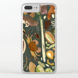 Thai Food is Good Food Clear iPhone Case