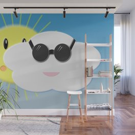 Cloudy day Wall Mural