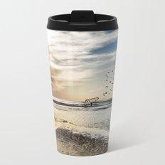 As Far As the Eye Can See Metal Travel Mug