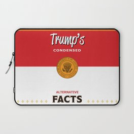 Trump's Alternative Facts Soup Laptop Sleeve