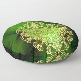 Jade island Floor Pillow