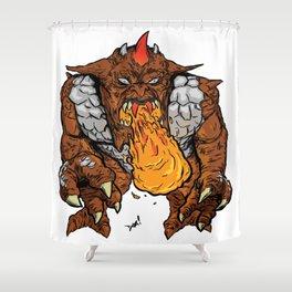 Metlar (Inhumanoids) Shower Curtain
