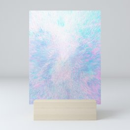 Snow Motion Mini Art Print