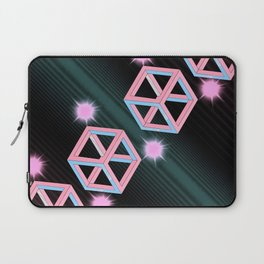 Neon Cubes Laptop Sleeve