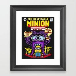 Despicable Minion Framed Art Print