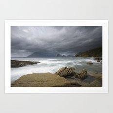 Elgol Isle of Skye Art Print