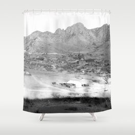 Pima County, Arizona. 1909 Shower Curtain