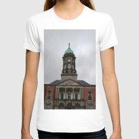 dublin T-shirts featuring Dublin Castel by Chalene Malekoff