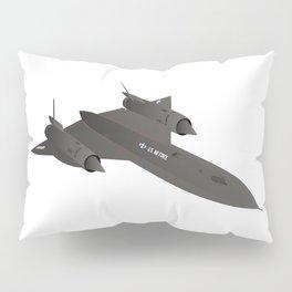 SR-71 Blackbird Reconnaissance Aircraft Pillow Sham