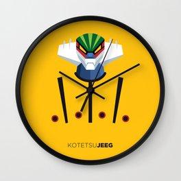 Kotetsu Jeeg (Steel Jeeg) Wall Clock