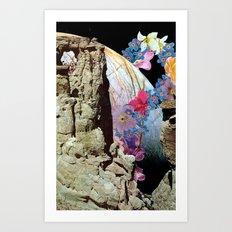 flowerbomb Art Print