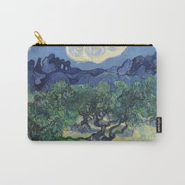 Vincent Van Gogh - The Olive Trees 1889 Carry-All Pouch