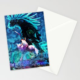 Colorful Shinigami Stationery Cards