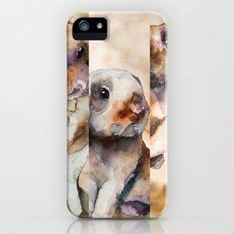 BUNNIES #1 iPhone Case