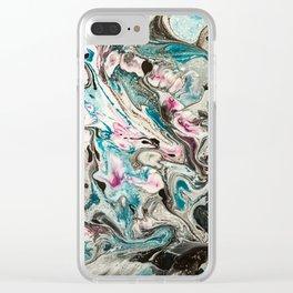 Scrambled Clear iPhone Case