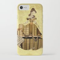 belle iPhone & iPod Cases featuring Belle by FauxGlam