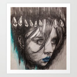 Eyes on you    BY.Davy Wong Art Print