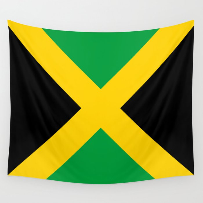 Flag of Jamaica Wall Tapestry