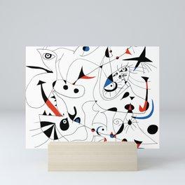 Joan Mirò #5 Mini Art Print