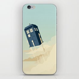 Time to Fly iPhone Skin