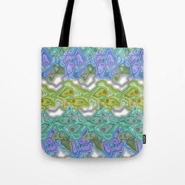 Topography Digital Bayadere Stripe Tote Bag