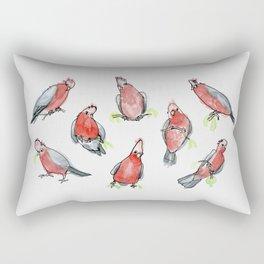 Galah Cockatoos Rectangular Pillow