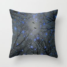 The Sight of the Stars Makes Me Dream Throw Pillow