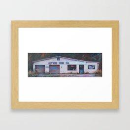 Blythe Tire Co. Framed Art Print