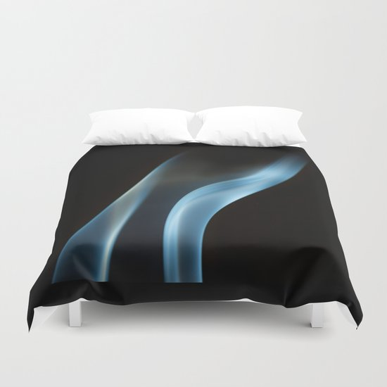Incense Smoke Duvet Cover