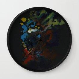Phenom Black Wall Clock