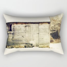 Out back Rectangular Pillow