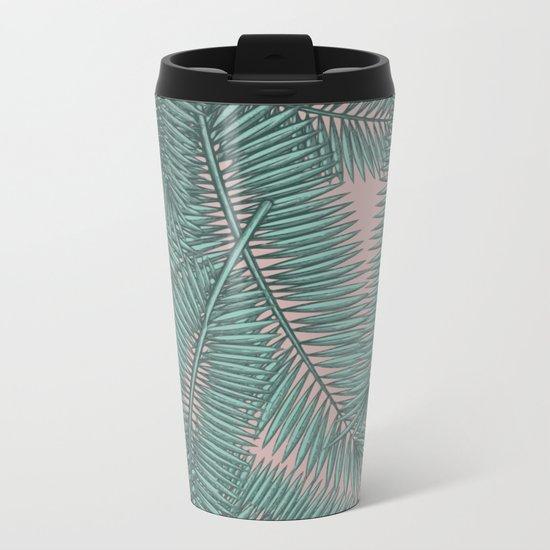 Palm dawn Metal Travel Mug