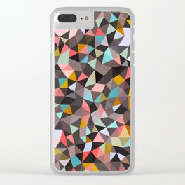 Java House Tris Clear iPhone Case