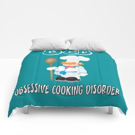 OCD Obsessive cooking disorder Comforters